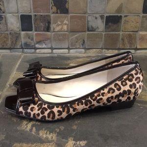 Steve Madden Shoes - Steve Madden Leopard Print Flats Size 8
